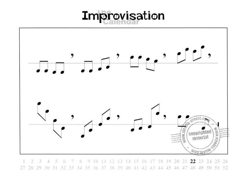 Wil Offermanns: Improvisation-Calendar (3)