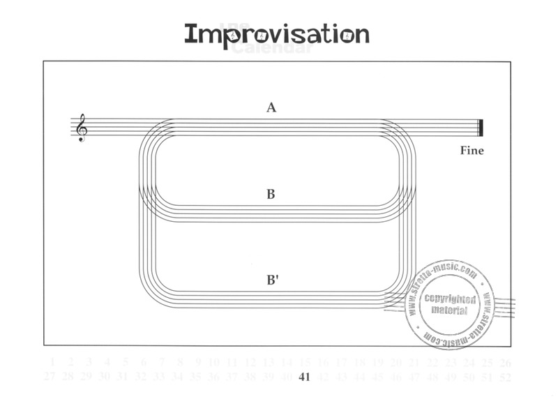 Wil Offermanns: Improvisation-Calendar (4)