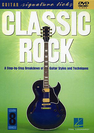 Classic Rock Guitar Signature Licks Gtr Dvd