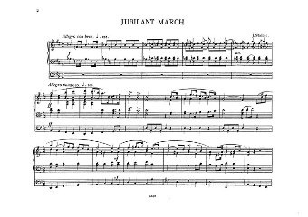 Stainer J.: Jubilant March For Organ