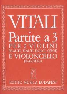 Giovanni Battista Vitali: Partite a 3