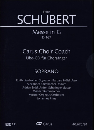 Franz Schubert: Messe in G D 167 – Carus Choir Coach
