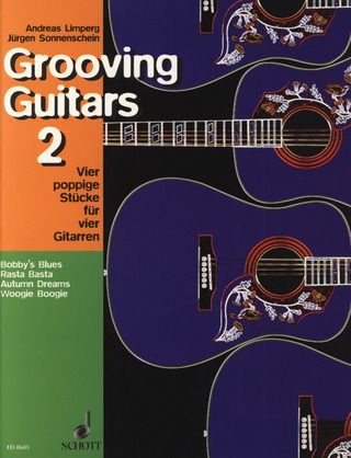 Andreas Limperg et al.: Grooving Guitars 2