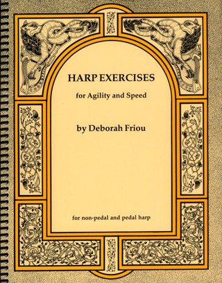 Friou, Deborah: Harp Exercises for Agility and Speed