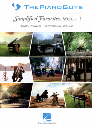 The Piano Guys: Simplified Favorites vol.1