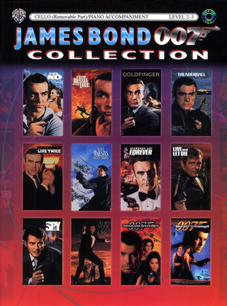 James Bond Collection For Cello Bk/Cd