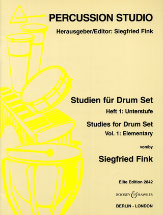 Siegfried Fink: Studien für Drum Set