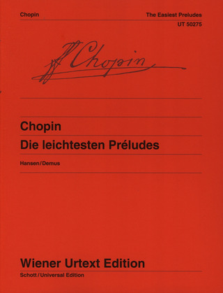 Frédéric Chopin: The Easiest Preludes
