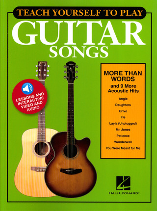 "Teach Yourself to Play Guitar Songs: ""More Than Words"" & 9 More Acoustic Hits"