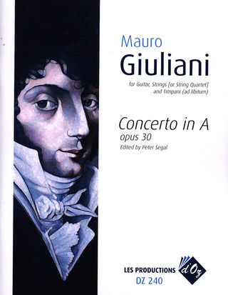 Mauro Giuliani: Concerto A major op.30