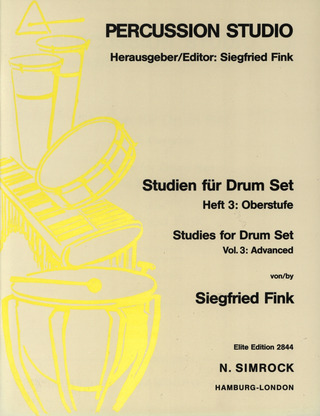 Siegfried Fink: Studien für Drum Set 3