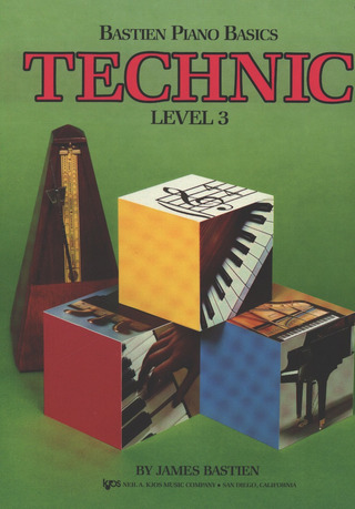 James Bastien: Bastiens Basics – Technic 3