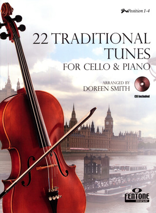 22 Traditional Tunes for Cello and Piano