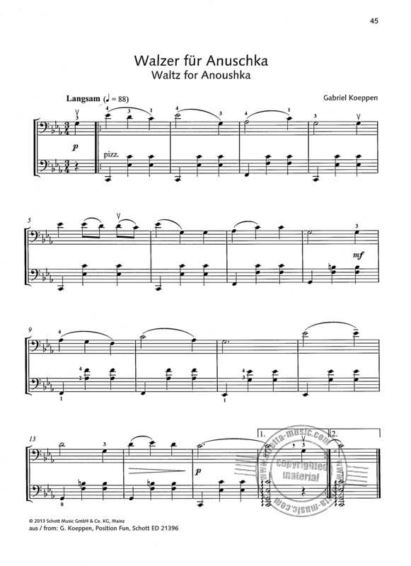 Duets for fun: Cellos (4)
