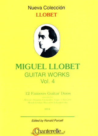 Miguel Llobet: Guitar Works