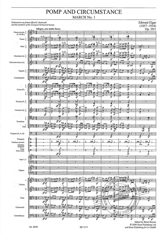 Edward Elgar: Pomp and Circumstance (1)