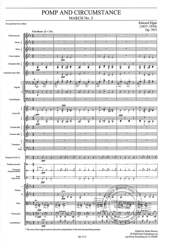 Edward Elgar: Pomp and Circumstance (3)
