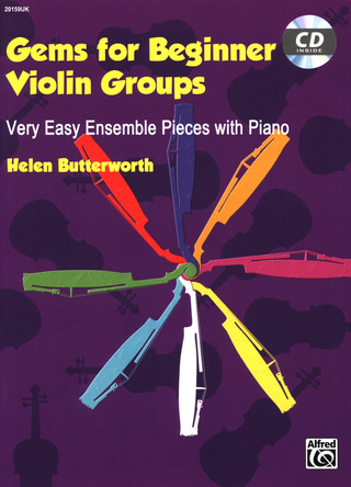 Helen Butterworth: Gems for Beginner Violin Groups (+CD)