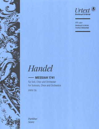 Georg Friedrich Haendel: Messiah HWV 56