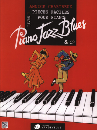 Annick Chartreux: Piano Jazz Blues 1