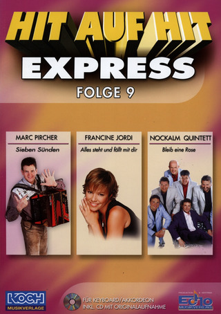 Hit auf Hit Express 09 NOTEN + CD