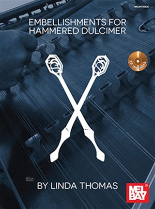 Embellishments For Hammered Dulcimer (Book/CD)