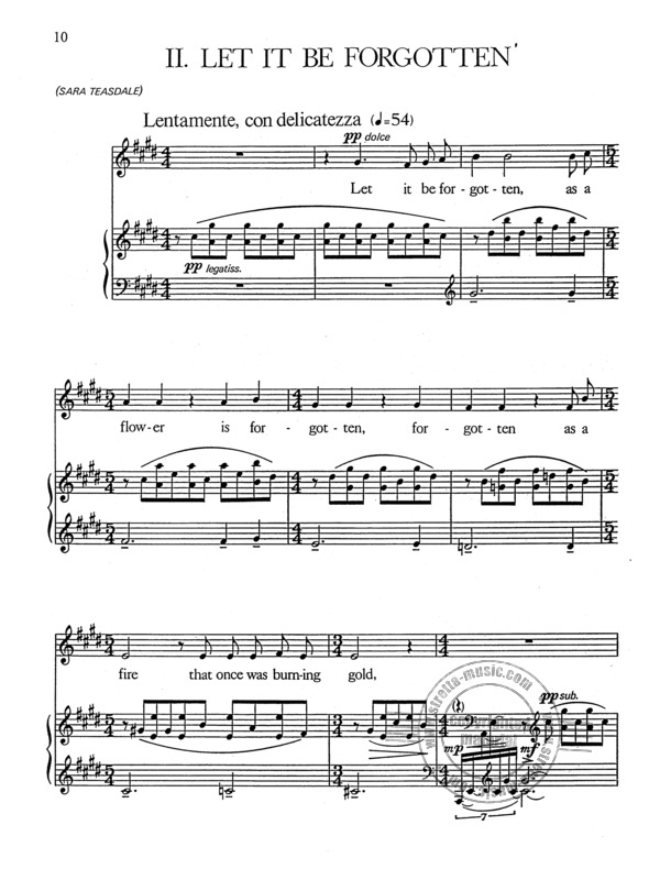 three early songs (1947) from george crumb | buy now in the stretta sheet  music shop  stretta music