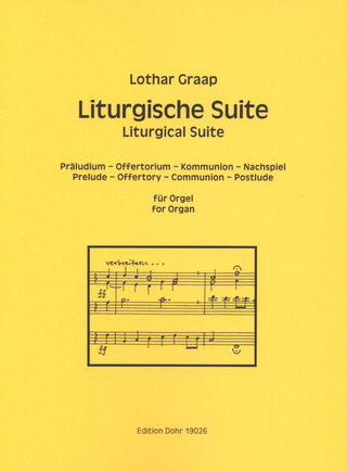 Lothar Graap: Liturgical Suite