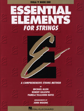 Allen Michael + Gillespie Robert + Tillejohn Hayes Pamela: Essential Elements For Strings 1