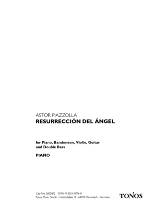 Astor Piazzolla: Resurreccion del angel