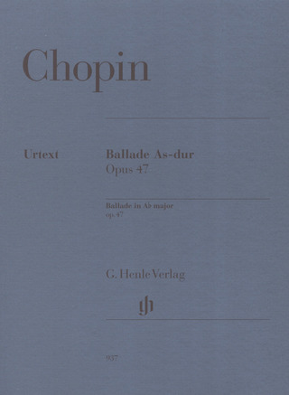 Frédéric Chopin: Ballade in A-flat major op. 47