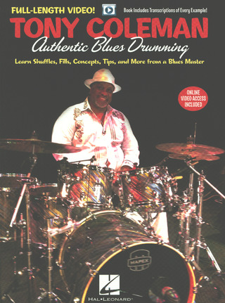 Tony Coleman: Authentic Blues Drumming
