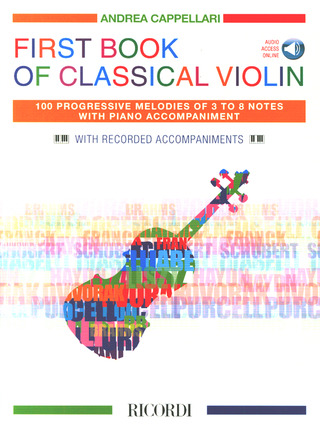 Andrea Cappellari: First Book of Classical Violin