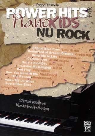Francis, Robert: Power Hits for Piano Kids - NU Rock