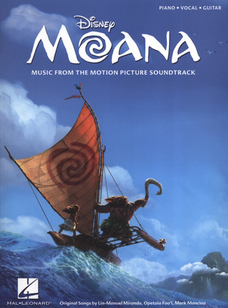 Lin-Manuel Miranda y otros.: Moana: Music From The Motion Picture Soundtrack (PVG)
