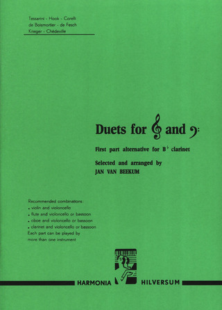 Duets for treble and bass 1