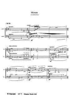 Oi Kuu Bass Flute Cello  Bass Flute Cello SHEET MUSIC BOOK Kaija Saariaho