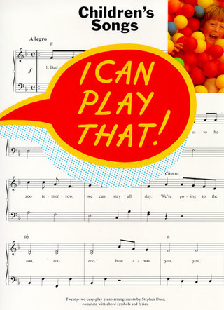 I Can Play That! Children's Songs
