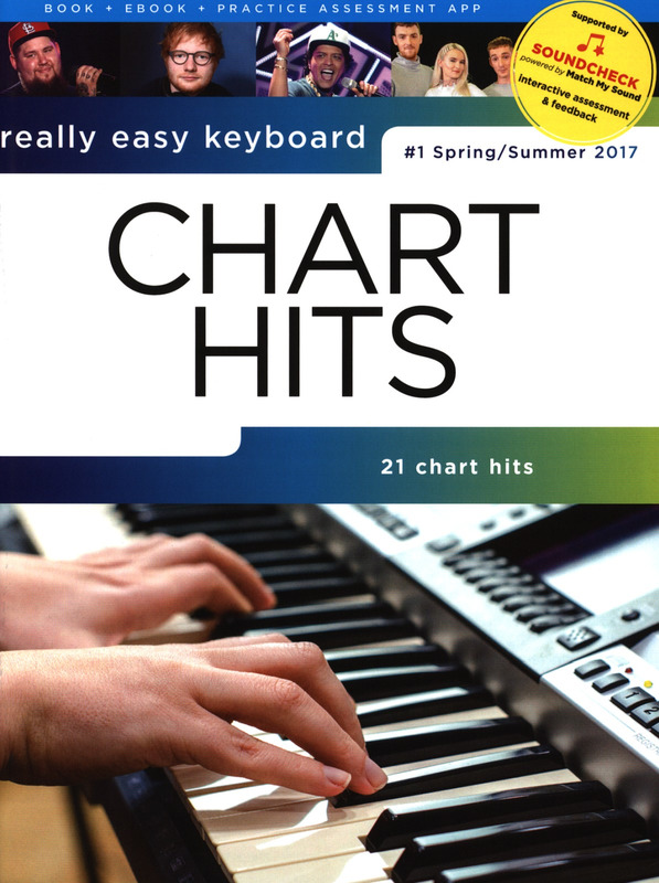 Really Easy Keyboard: Chart Hits - #1 2017
