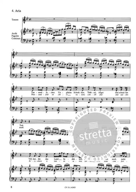 Lobe den Herrn, meine Seele (I) B-Dur BWV 143 (1708(?) von