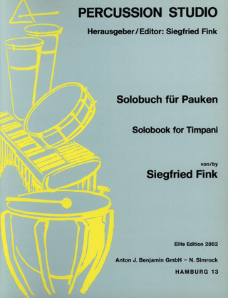 Siegfried Fink: Solobook for Timpani 1