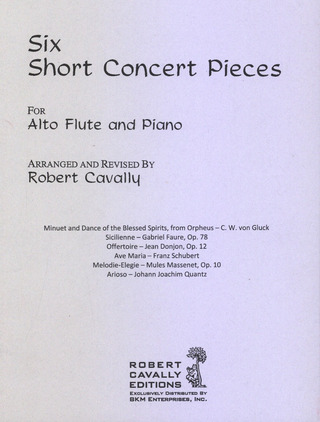 6 Short Concert Pieces