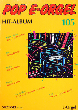 Pop E-Orgel Hit-Album 105