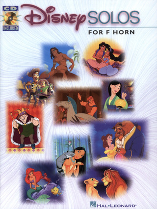 Disney Solos French Horn Bk/Cd