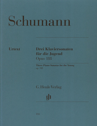 Robert Schumann: Three Piano Sonatas for the Young op. 118