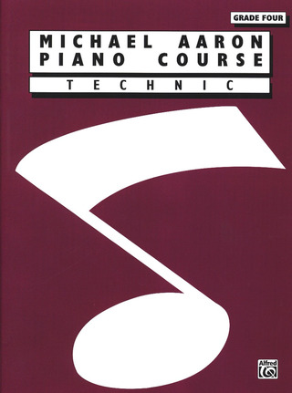 Michael Aaron: Piano Course - Technic 4