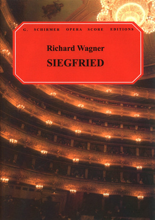 Richard Wagner: Wagner Siegfried Vocal Score P/B (Ed1564)