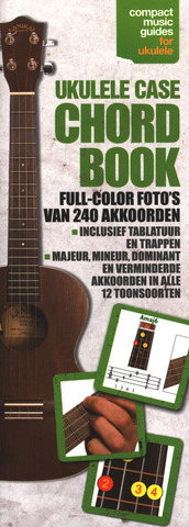 Ukulele Case Chord Book (Dutch Edition)
