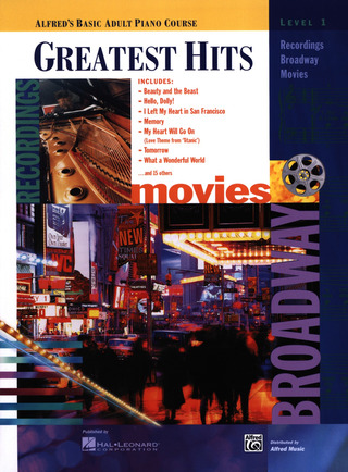 Greatest Hits 1 Recordings Broadway Movies