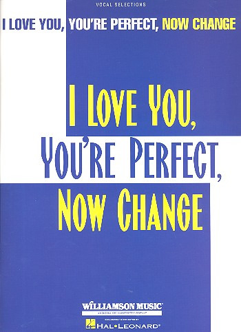 Roberts Jimmy: I Love You, You're Perfect, Now Change Pvg Book